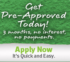 Get pre-approved today! 3 months, no interest, no payments
