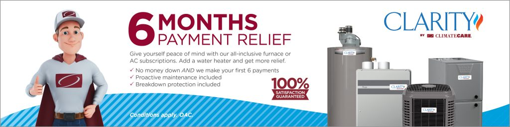 6 Month Payment Relief - HVAC Financing